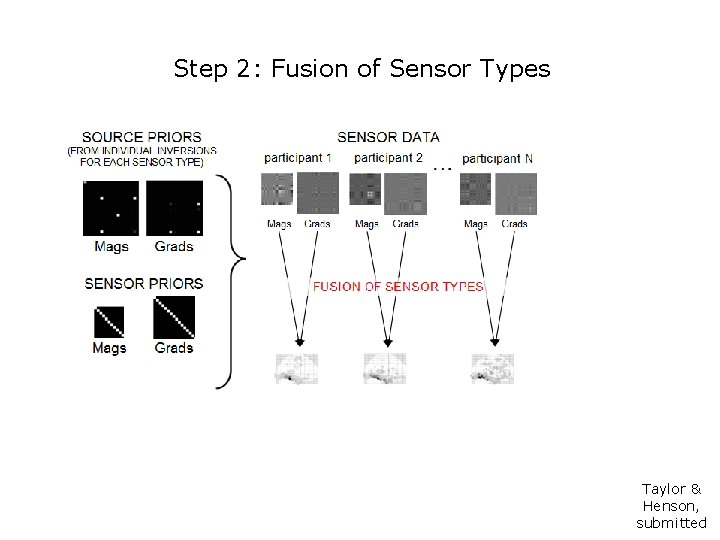 Step 2: Fusion of Sensor Types Taylor & Henson, submitted