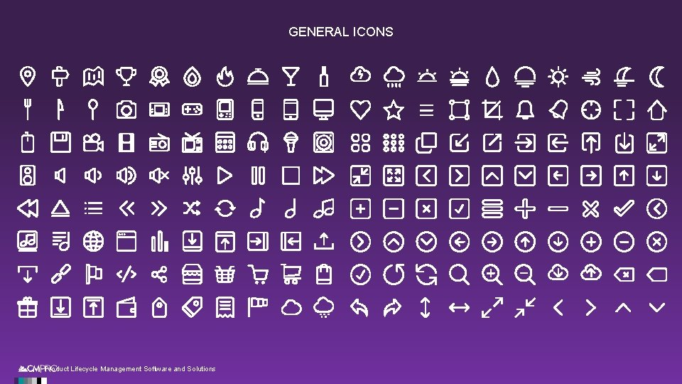 GENERAL ICONS | Product Lifecycle Management Software and Solutions