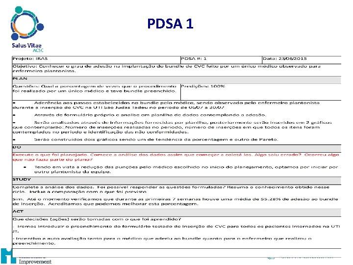 PDSA 1