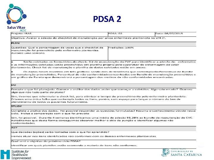 PDSA 2