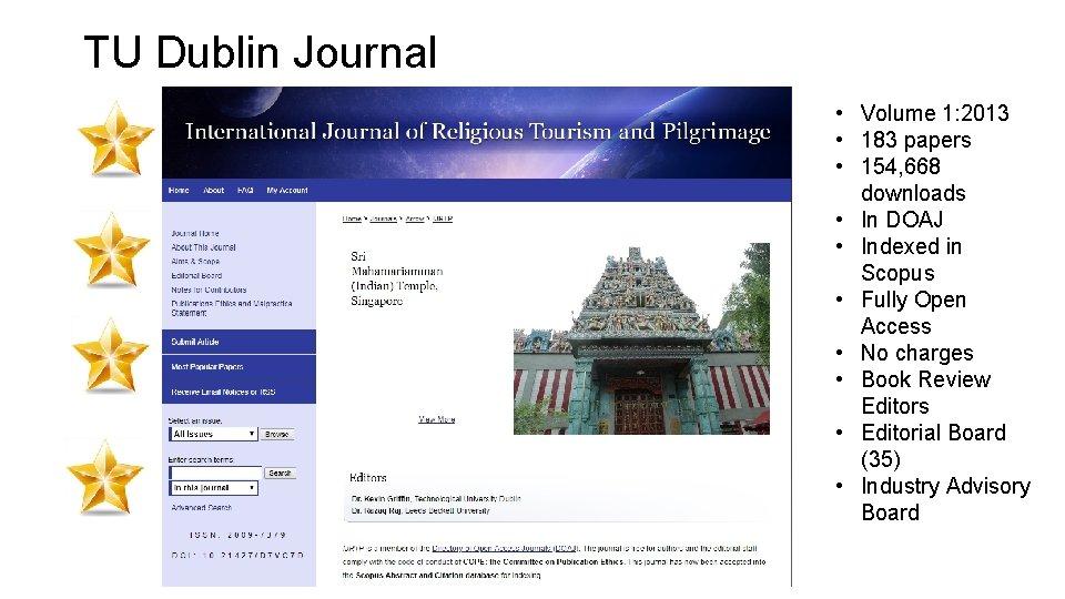 TU Dublin Journal • Volume 1: 2013 • 183 papers • 154, 668 downloads