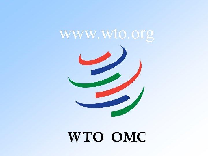 www. wto. org