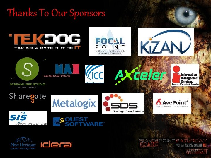 Thanks To Our Sponsors 50