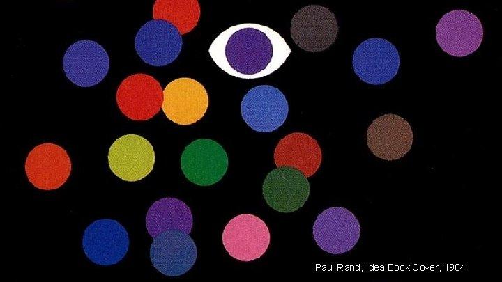 Paul Rand, Idea Book Cover, 1984