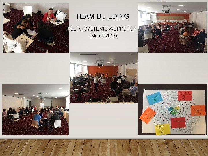 TEAM BUILDING SETs: SYSTEMIC WORKSHOP (March 2017)