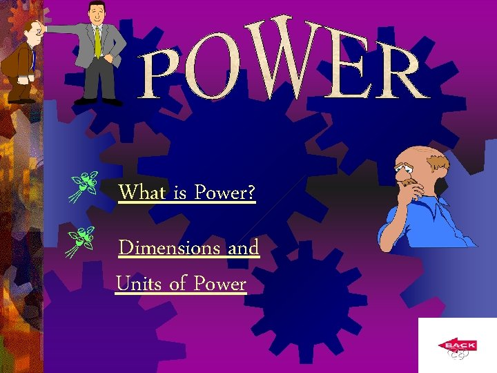 What is Power? Dimensions and Units of Power
