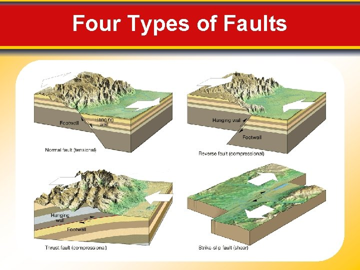Four Types of Faults