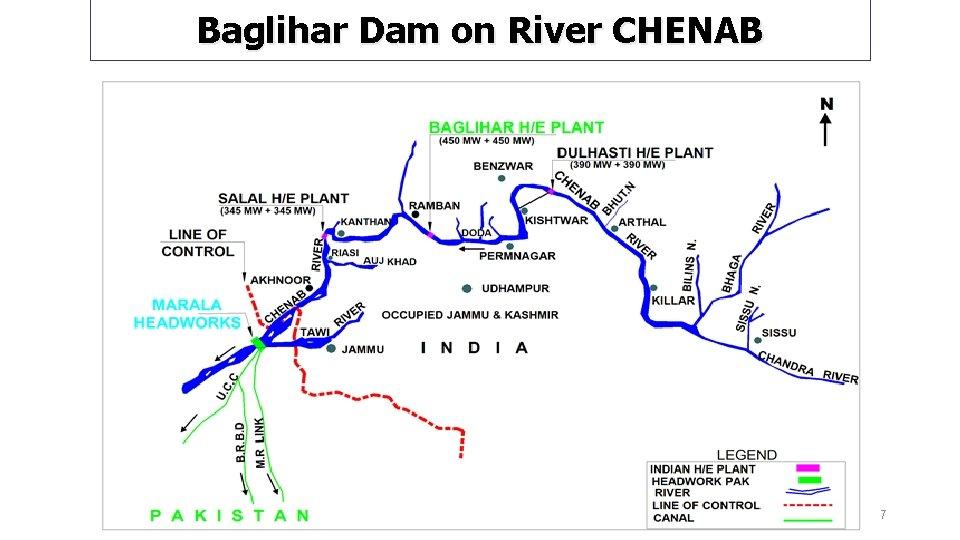 Baglihar Dam on River CHENAB 7
