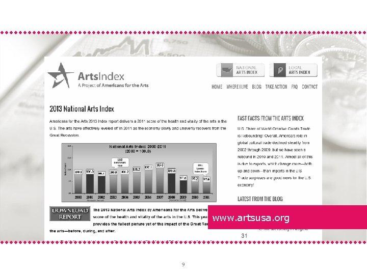 www. artsusa. org 9