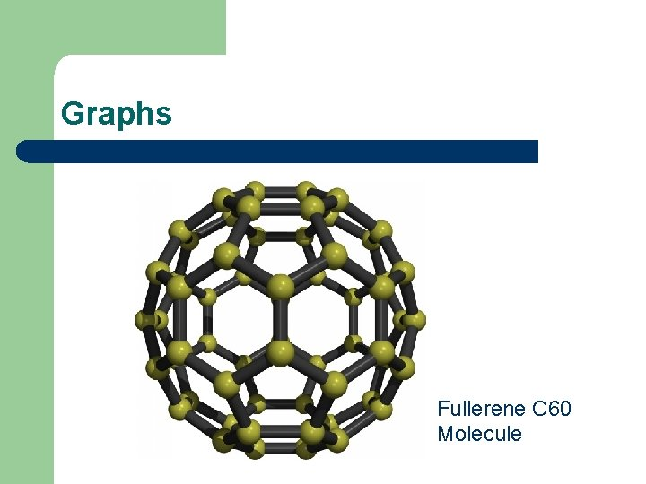 Graphs Fullerene C 60 Molecule