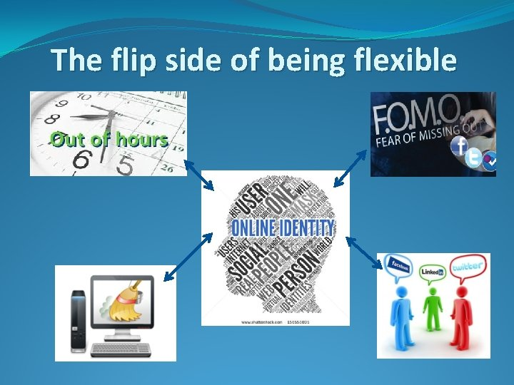 The flip side of being flexible
