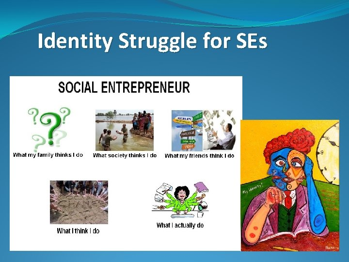 Identity Struggle for SEs