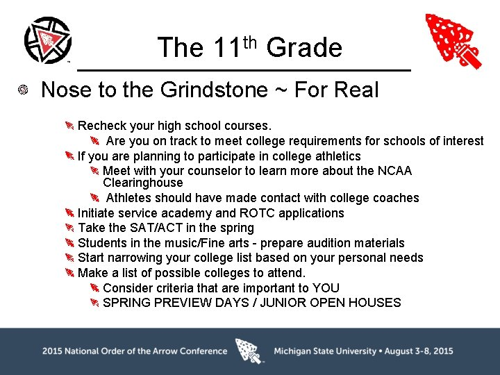 The 11 th Grade Nose to the Grindstone ~ For Real Recheck your high