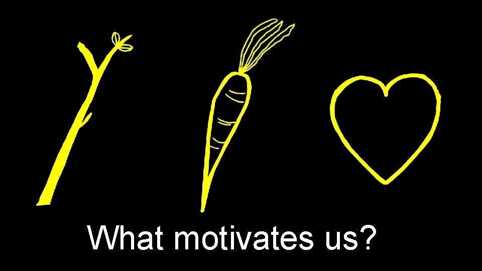 What motivates us? Motivation 1. 0 Motivation 2. 0 Motivation 3. 0