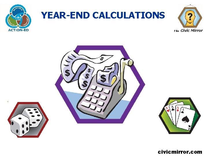 YEAR-END CALCULATIONS The Civic Mirror civicmirror. com