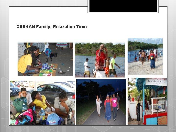 DESKAN Family: Relaxation Time