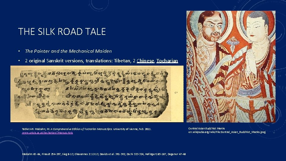 THE SILK ROAD TALE • The Painter and the Mechanical Maiden • 2 original