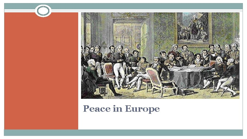 Peace in Europe