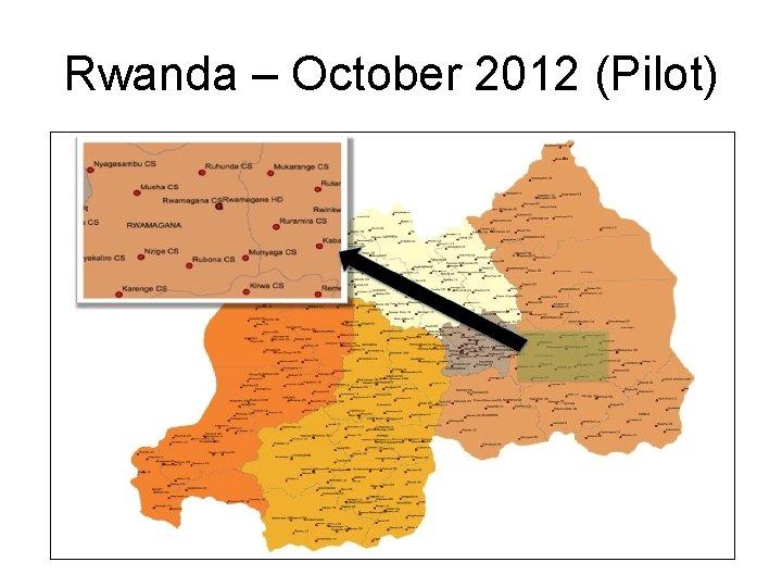 Rwanda – October 2012 (Pilot)