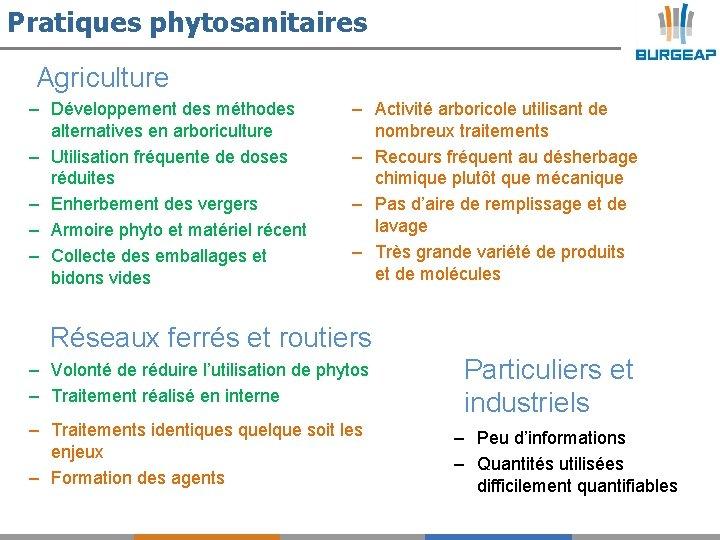 Pratiques phytosanitaires Agriculture – Développement des méthodes alternatives en arboriculture – Utilisation fréquente de