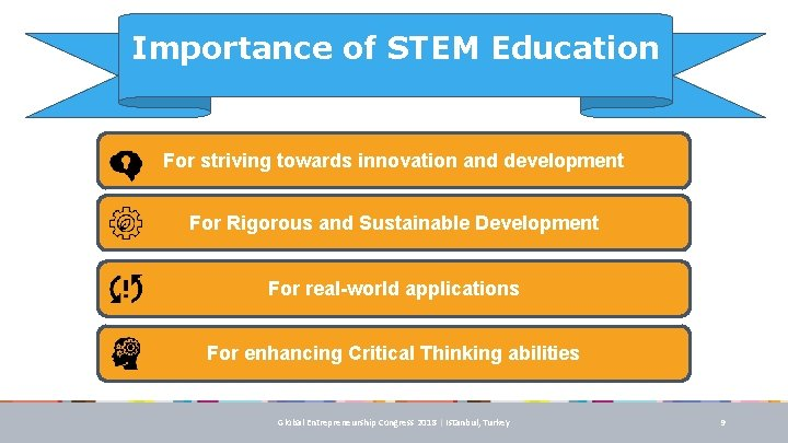 Importance of STEM Education For striving towards innovation and development For Rigorous and Sustainable