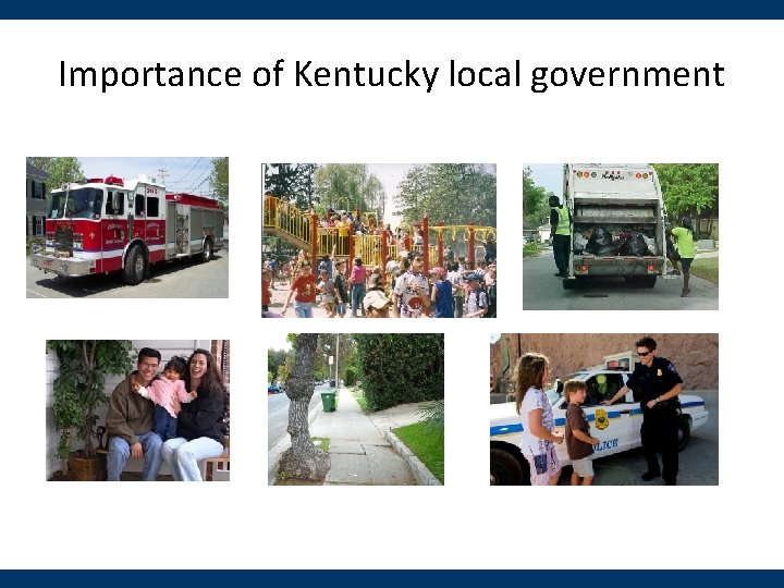 Importance of Kentucky local government