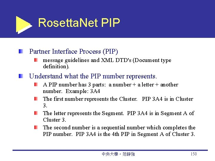 Rosetta. Net PIP Partner Interface Process (PIP) message guidelines and XML DTD's (Document type