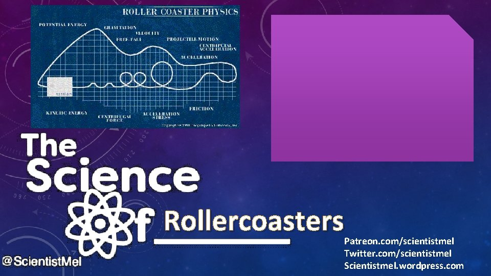 Rollercoasters Patreon. com/scientistmel Twitter. com/scientistmel Scientistmel. wordpress. com
