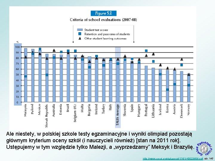 Ale niestety, w polskiej szkole testy egzaminacyjne i wyniki olimpiad pozostają głównym kryterium oceny