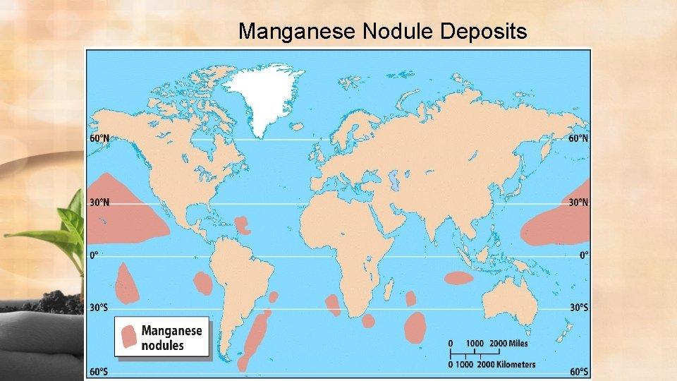 Manganese Nodule Deposits