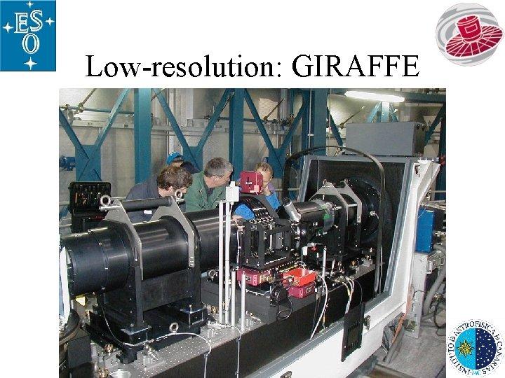 Low-resolution: GIRAFFE