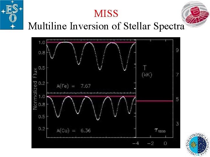 MISS Multiline Inversion of Stellar Spectra