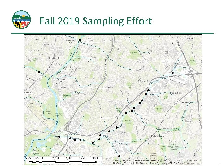 Fall 2019 Sampling Effort 4