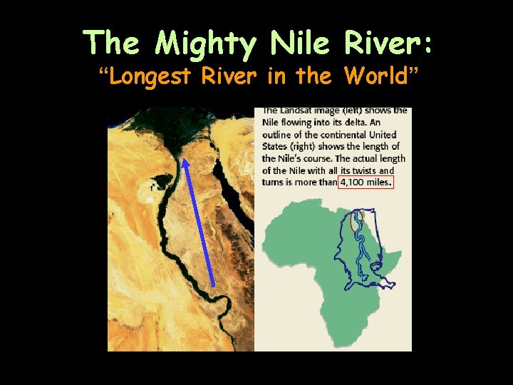 """The Mighty Nile River: """"Longest River in the World"""""""