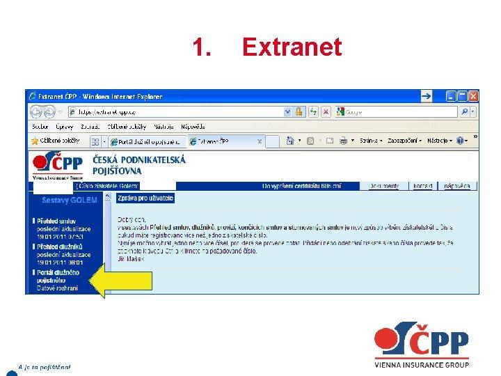 1. Extranet