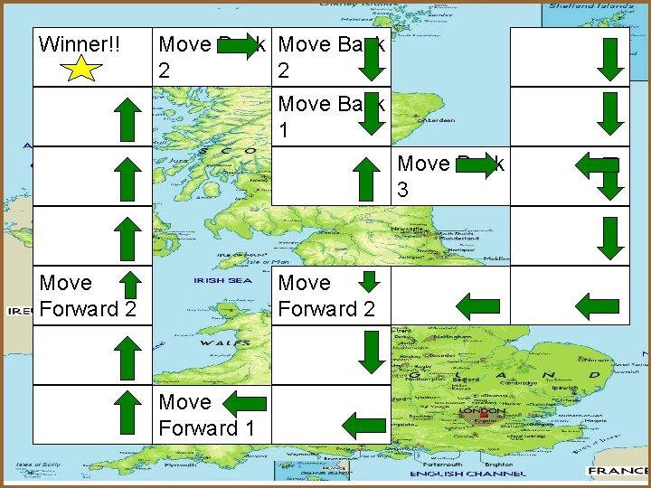 Winner!! Move Back 2 2 Move Back 1 Move Back 3 Move Forward 2