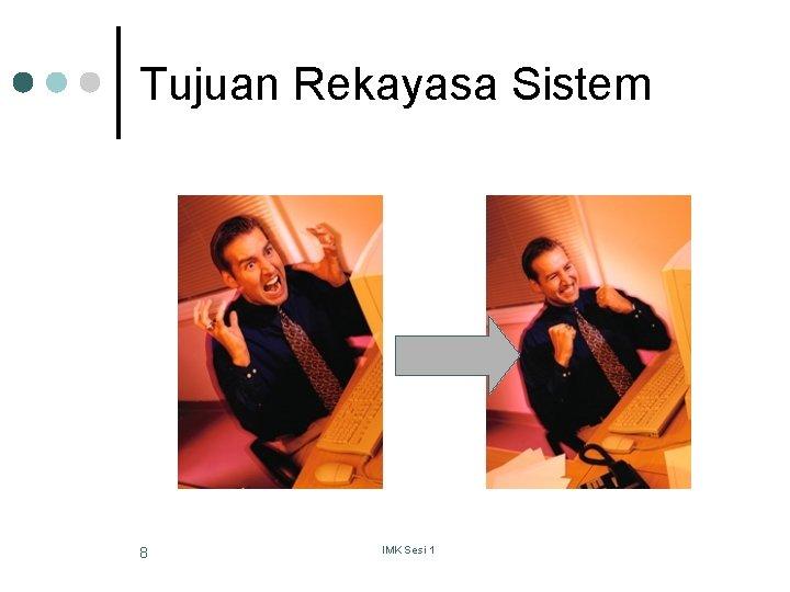 Tujuan Rekayasa Sistem 8 IMK Sesi 1