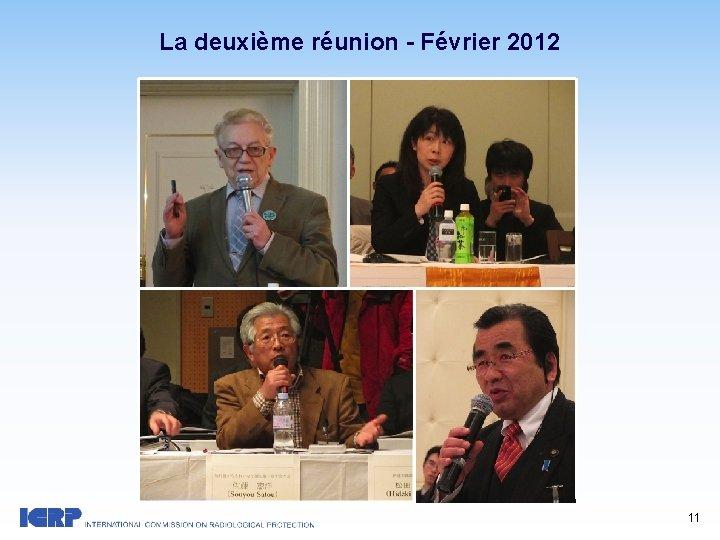 La deuxième réunion - Février 2012 11