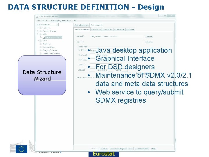 DATA STRUCTURE DEFINITION - Design Data Structure Wizard • • Java desktop application Graphical