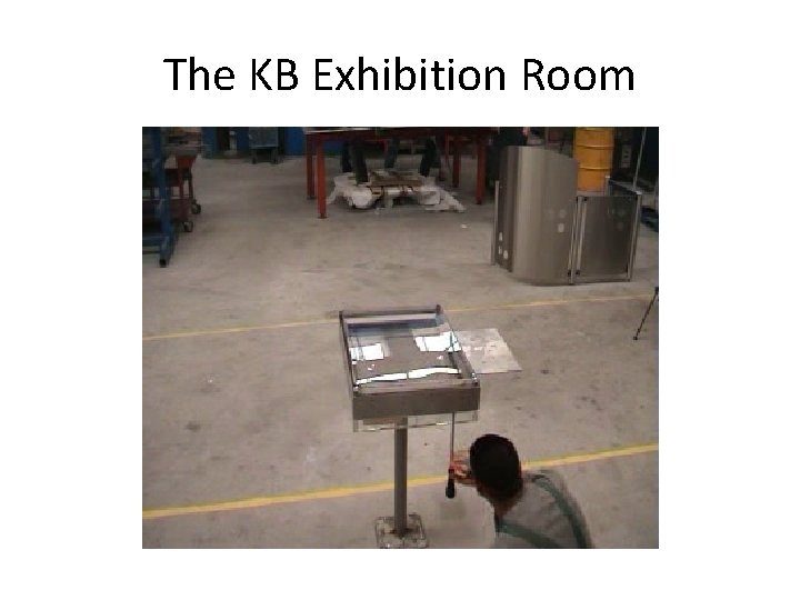 The KB Exhibition Room