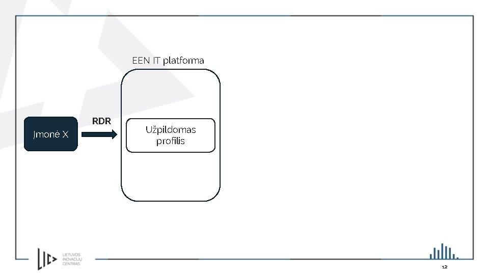 EEN IT platforma RDR Įmonė X Užpildomas profilis 12