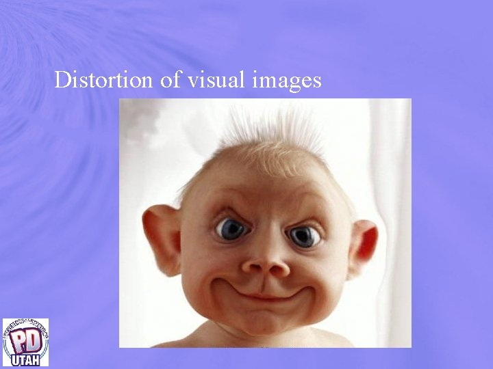 Distortion of visual images