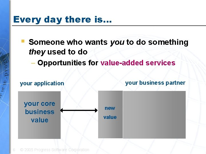 Every day there is… § Someone who wants you to do something they used