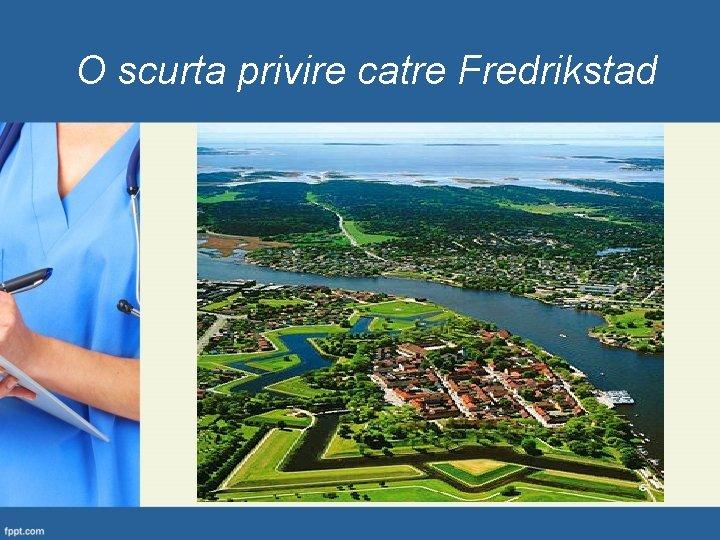 O scurta privire catre Fredrikstad