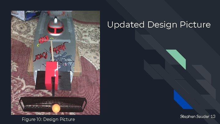 Updated Design Picture Figure 10: Design Picture Stephen Sauder 13