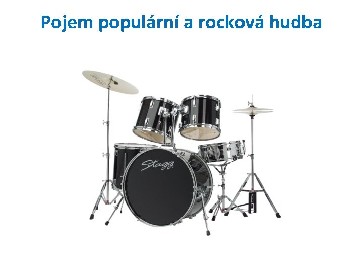 Pojem populární a rocková hudba