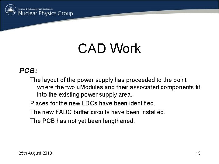 CAD Work PCB: The layout of the power supply has proceeded to the point