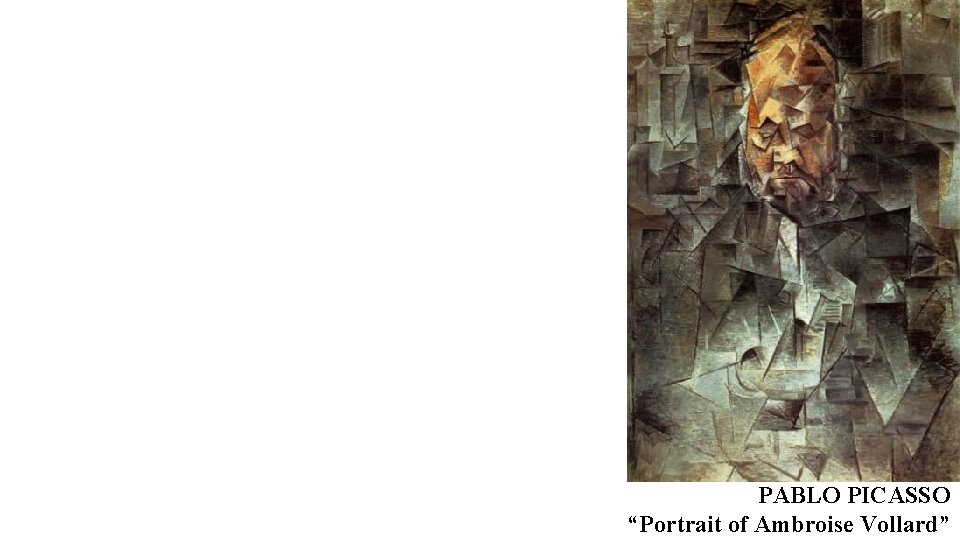 "PABLO PICASSO ""Portrait of Ambroise Vollard"""