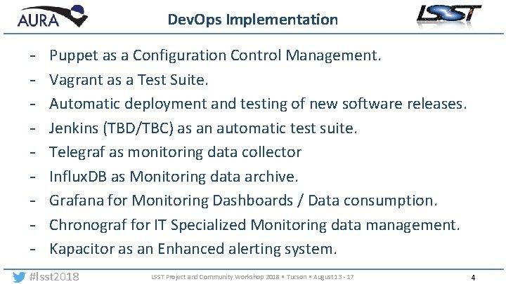Dev. Ops Implementation - Puppet as a Configuration Control Management. Vagrant as a Test