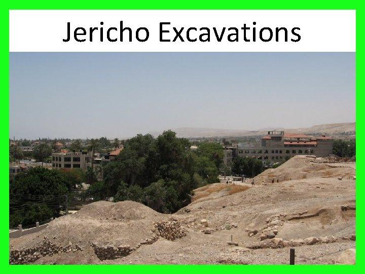 Jericho Excavations 19